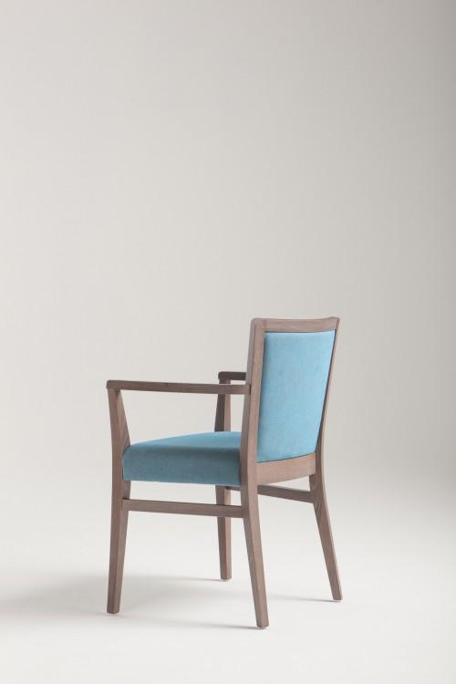 holzst hle mila soft mit armlehne. Black Bedroom Furniture Sets. Home Design Ideas